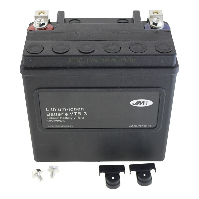 Bateria de litio JMT VTB-3 para Harley Davidson