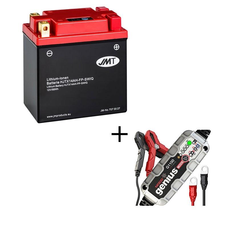 Bateria de litio HJTX14AH-FP-SWI + Cargador LITIO