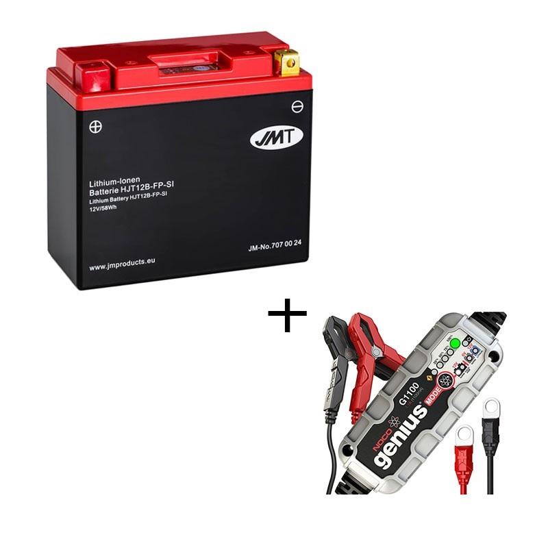 Bateria de litio HJT12B-FP + Cargador LITIO