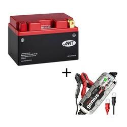 Conjunto Batería de litio HJTZ14S-FP y Cargador Automático NOCO