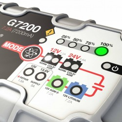 Cargador - Mantenedor de  Bateria NOCO GENIUS G7200 CAN BUS