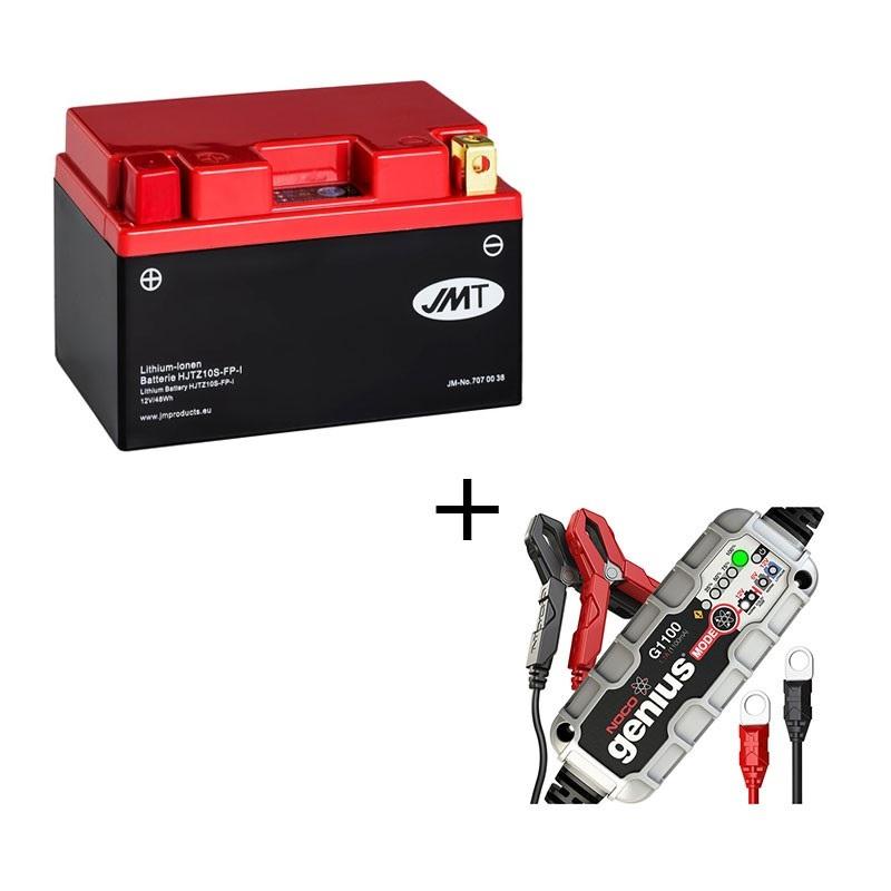 Bateria de litio HJTZ10S + Cargador LITIO