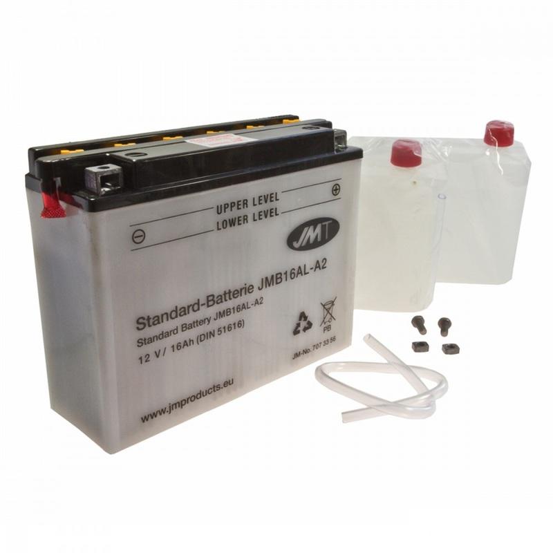 Bateria JMT YB16AL-A2 con mantenimiento