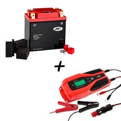 Bateria de litio HJTX14AH-FP + Cargador JMP SKAN 4.0 Litio