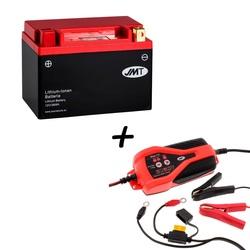 Bateria de litio HJTX9-FP + Cargador JMP SKAN 1.0 Litio