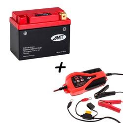 Bateria de litio HJB5-FP + Cargador JMP SKAN 1.0 Litio