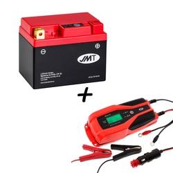 Bateria de litio HJTX5L-FP + Cargador JMP SKAN 4.0 Litio