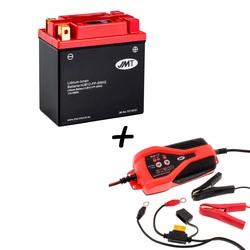 Bateria de litio HJB12-FP + Cargador JMP SKAN 1.0 Litio