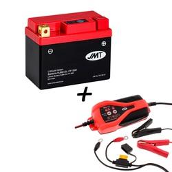 Bateria de litio HJB612L-FP + Cargador JMP SKAN 1.0 Litio