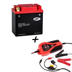 Bateria de litio HJB9-FP + Cargador JMP SKAN 1.0 Litio