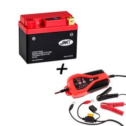 Bateria de litio HJB612-FP + Cargador JMP SKAN 1.0 Litio