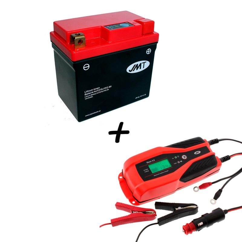 Bateria de litio HJTZ7S-FPZ + Cargador JMP SKAN 4.0 Litio