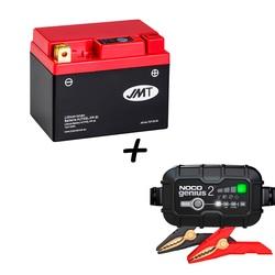 Bateria de litio HJTX5L-FP + Cargador GENIUS2 Litio