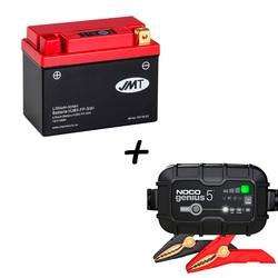 Bateria de litio HJB5-FP + Cargador GENIUS5 Litio