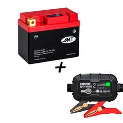 Bateria de litio HJB612L-FP + Cargador GENIUS2 Litio