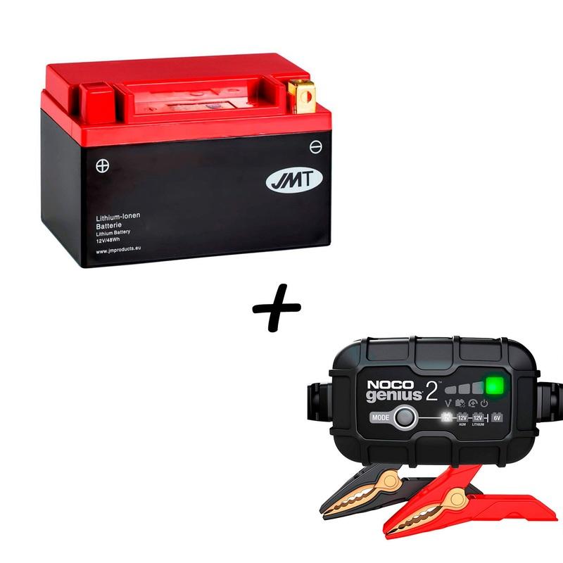 Conjunto Cargador y Bateria de litio HJTX14H-FP
