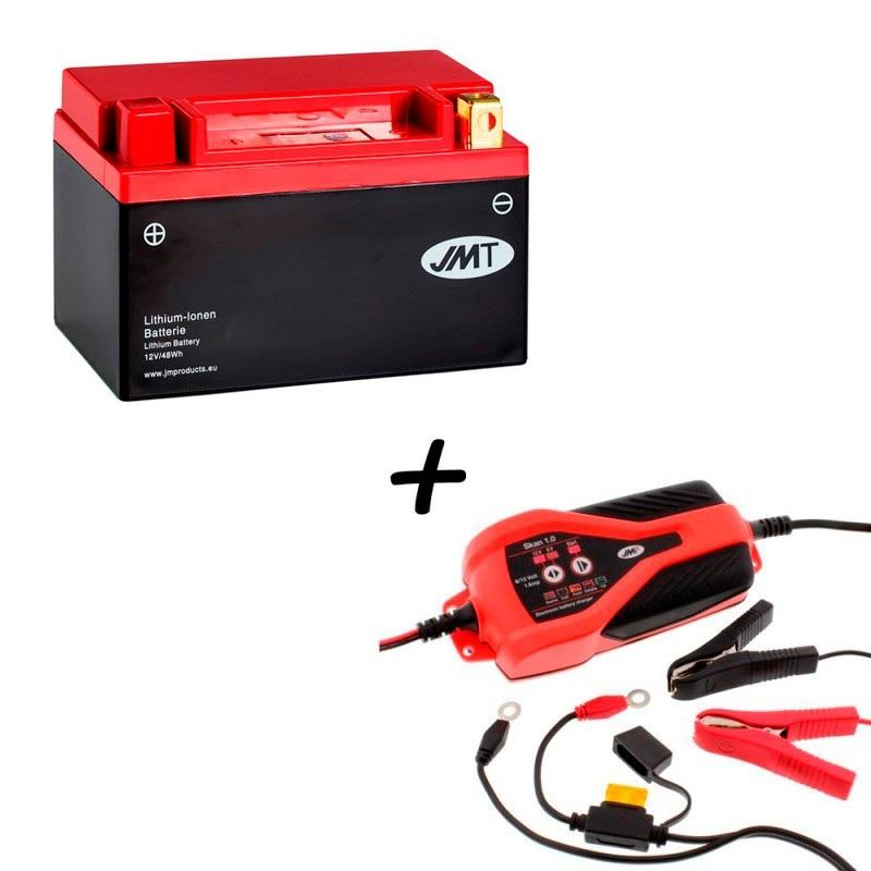 Bateria de litio HJTX14H-FP + Cargador JMP SKAN 1.0 Litio