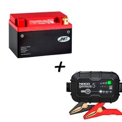 Batería de Litio HJTX14H-FP + Cargador NOCO G2 Litio