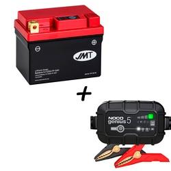 Bateria de litio  HJTZ5S-FP + Cargador GENIUS5 Litio