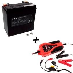 Bateria JMT VTB-3 65958-04A-B 66000208 AGM + Cargador JMP SKAN 1.0 Litio