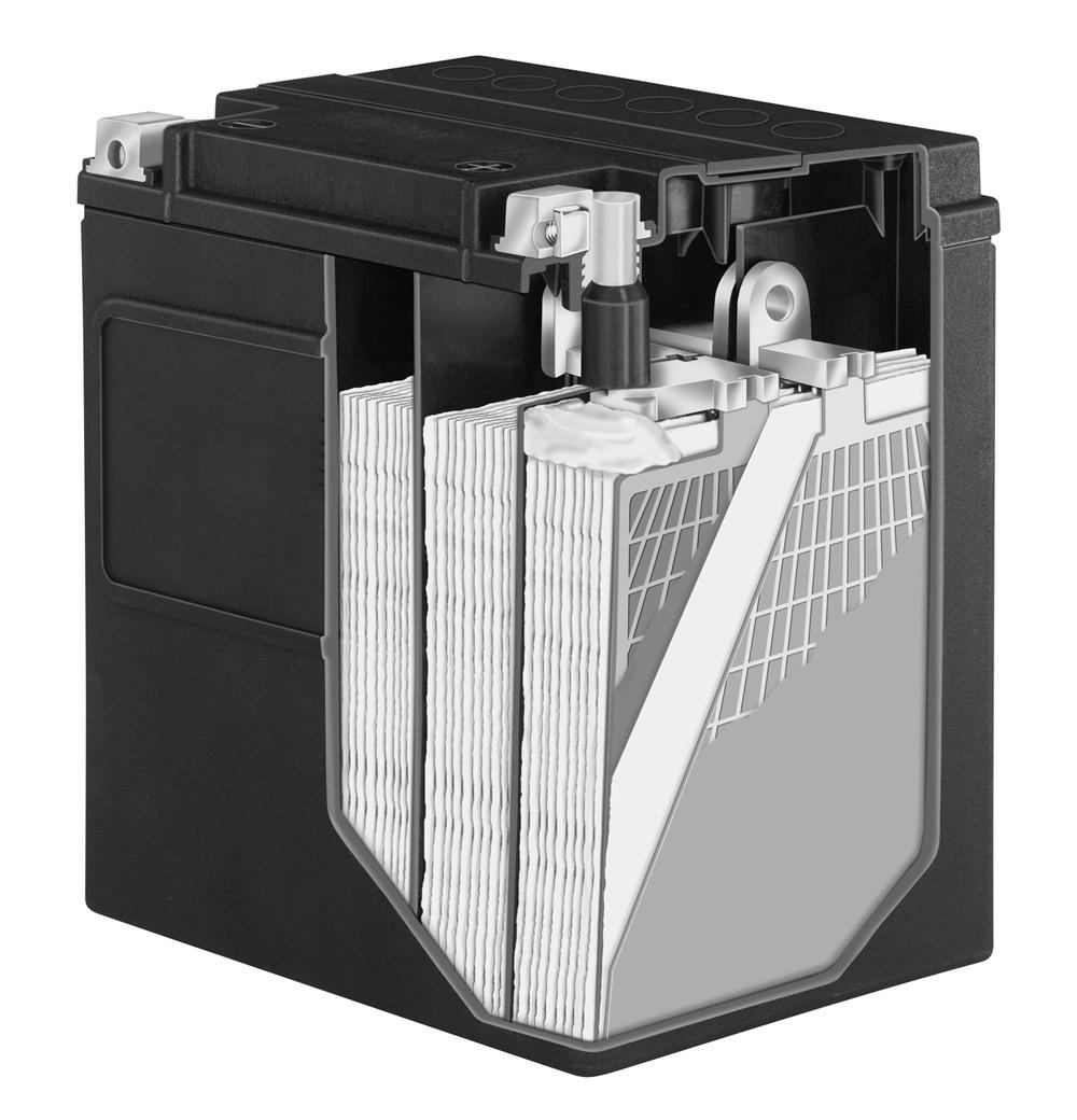 Bateria JMT VTB AGM para Harley