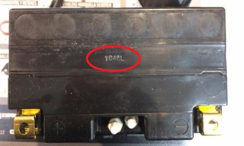 Número de serie batería