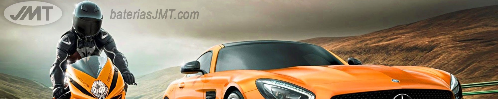 Baterías JMT para todo tipo de vehículos Litio Plomo Gel AGM
