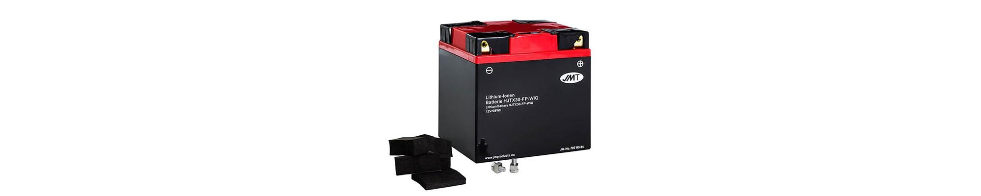 Baterias de litio para moto JMT línea HJT 2 años de garantía